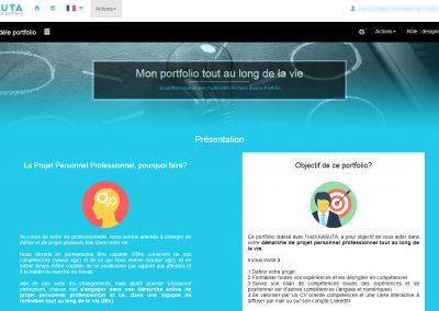 Modèle portfolio Formation Tout au Long de La Vie (karuta 2.3 fr)