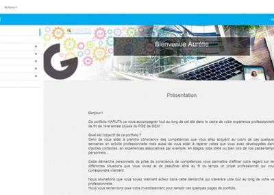 Évaluer les compétences à l'aide d'un e-portfolio – ReFlexPro, GEM, USMB