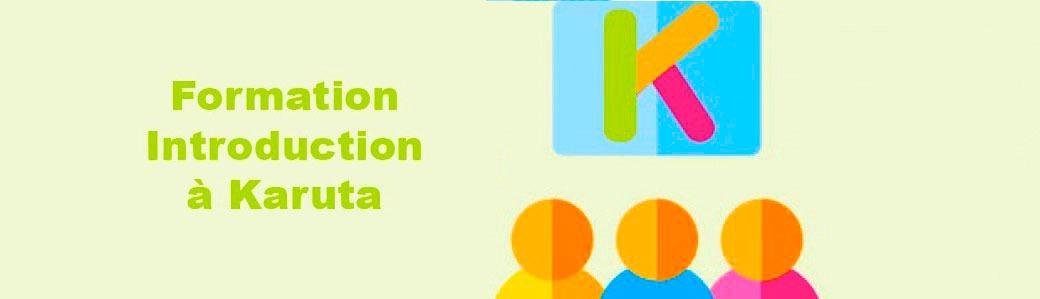 A vos agendas : atelier formation Karuta 5 février 2020